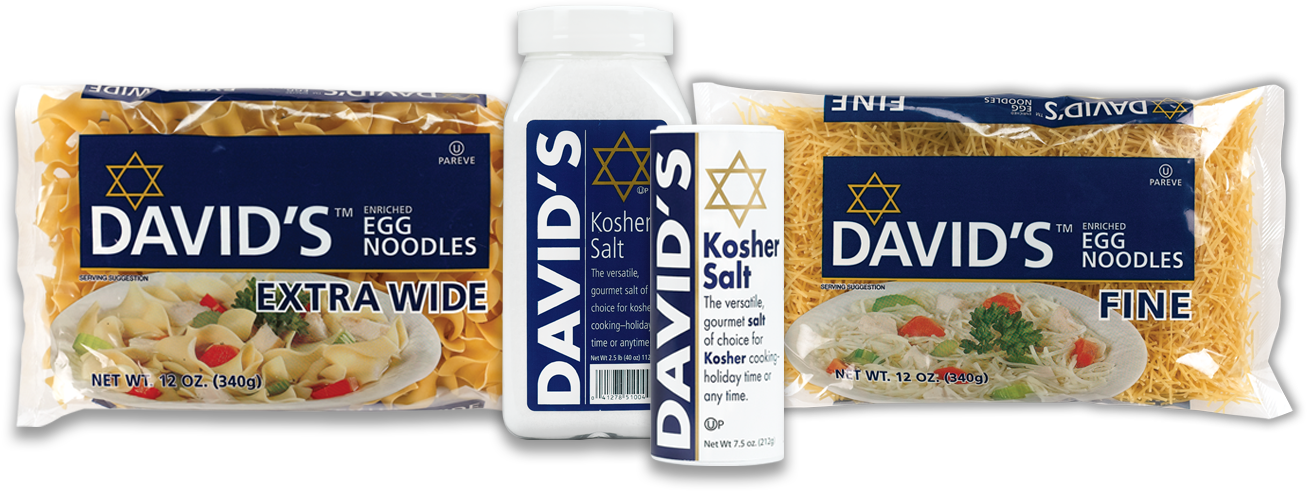 David's Kosher product banner